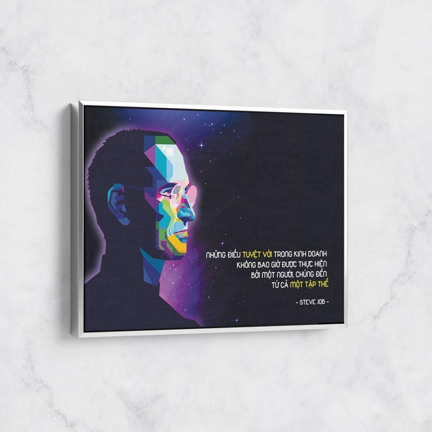 Tranh Động Lực Từ Lời Khuyên Của Steve Jobs DL067