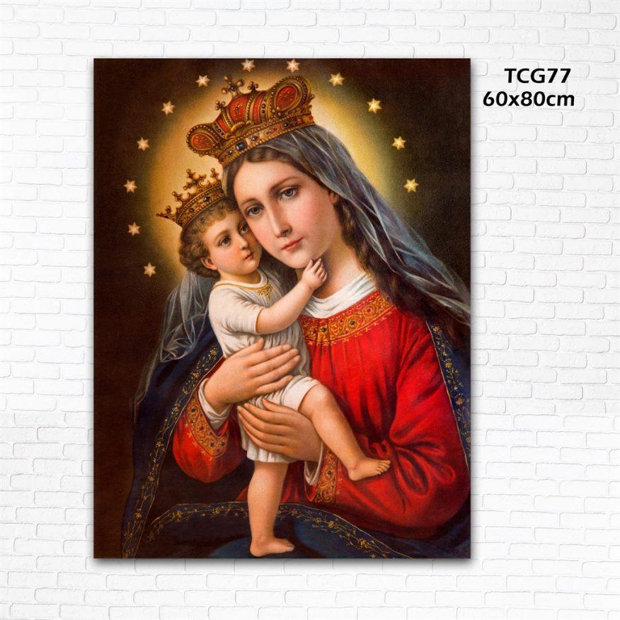 Tranh Đức Mẹ Ôm Chúa YH00160