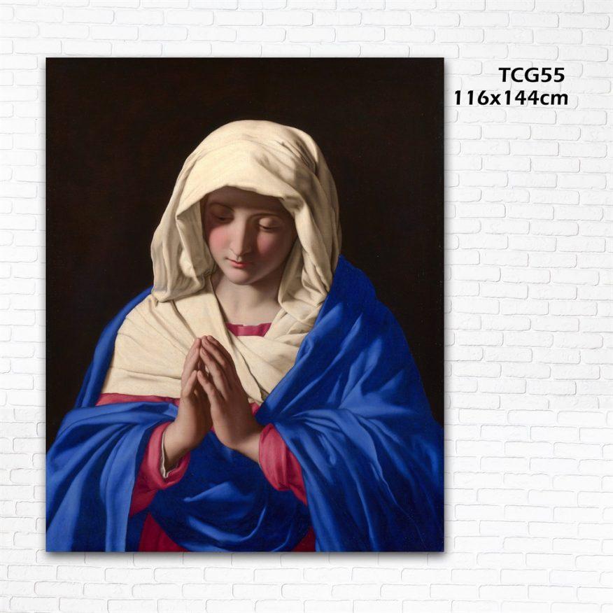Tranh Đức Mẹ Cầu Nguyện YH00151