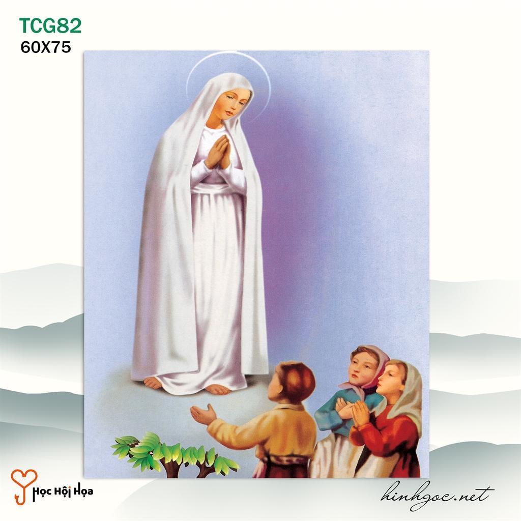 Tranh Công Giáo Đức Mẹ Cầu Nguyện YH00163