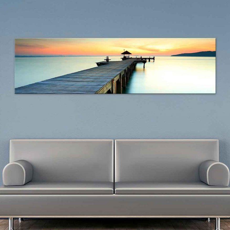 Tranh Cảng Biển Lúc Hoàng Hôn YH00259
