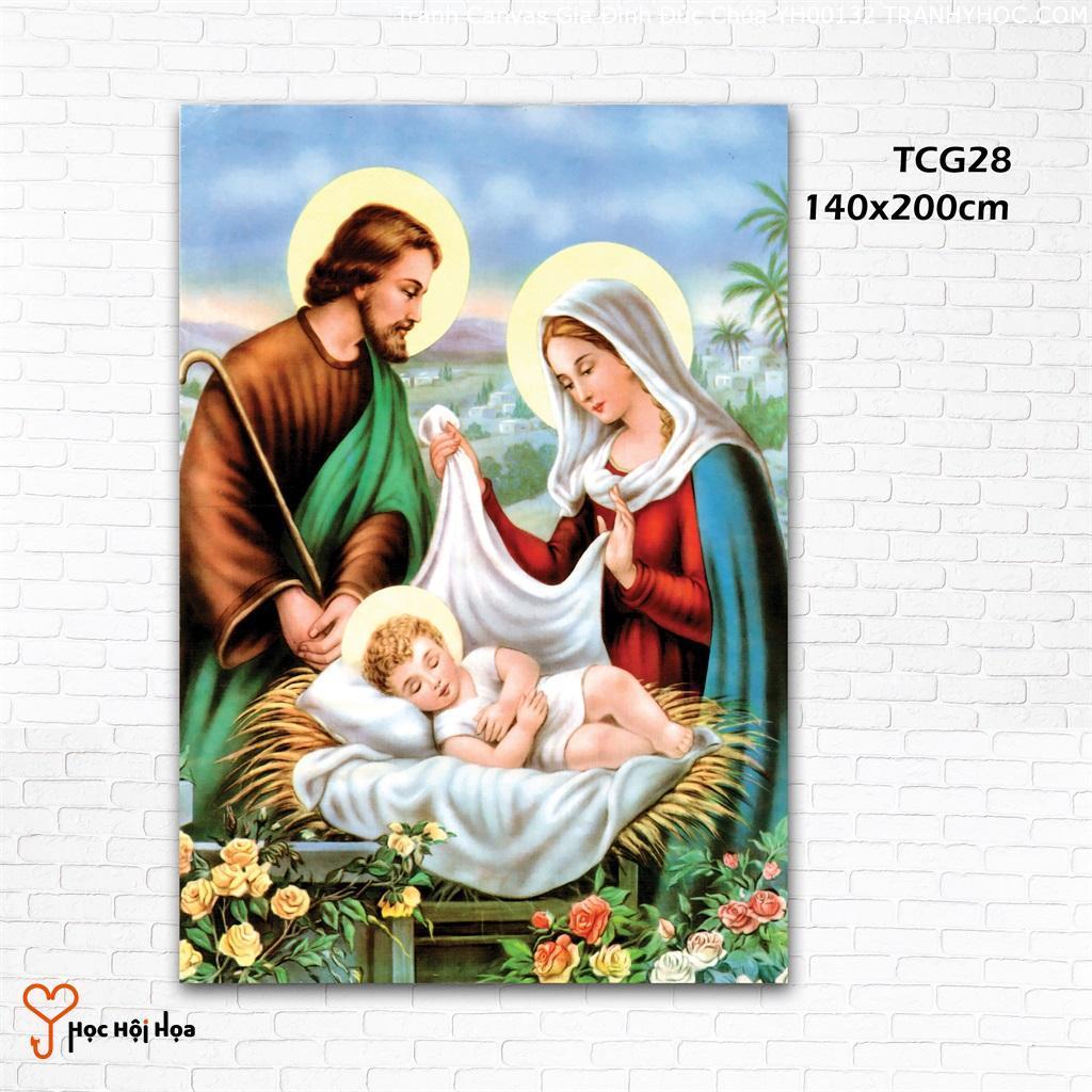 Tranh Canvas Gia Đình Đức Chúa YH00132