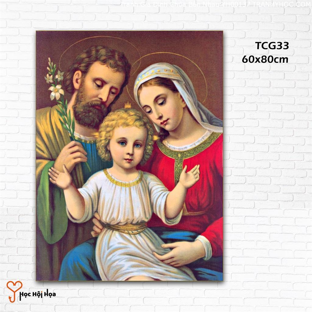 Tranh Gia Đình Chúa Bên Nhau YH00137