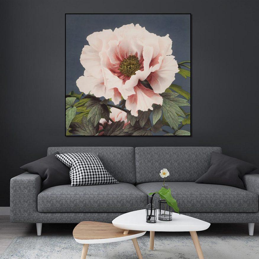 Tranh Hoa Cẩm Chướng In Canvas YH00235