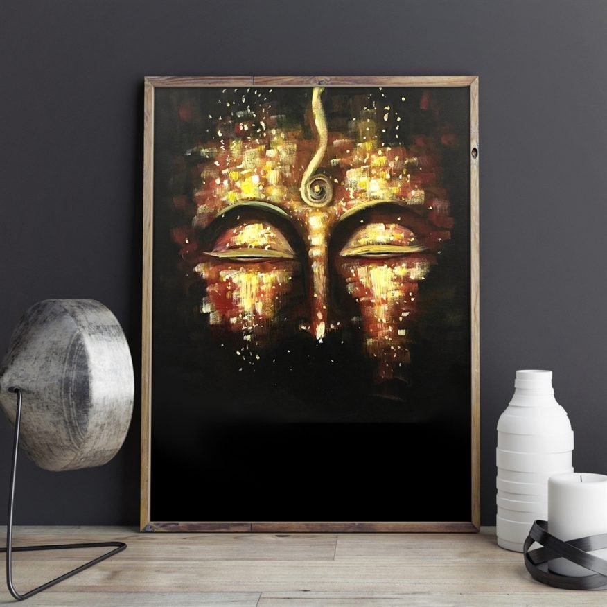 Tranh Mắt Phật Niệm YH00189
