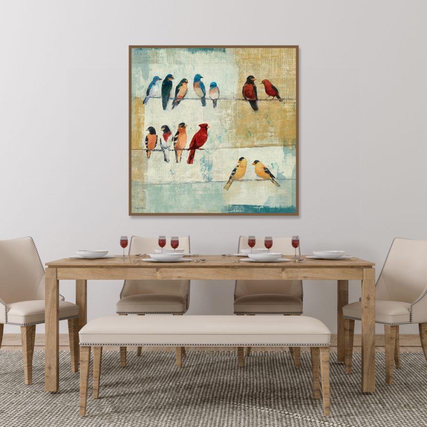 Tranh Những Chú Chim Hót Bên Nhau YH00305