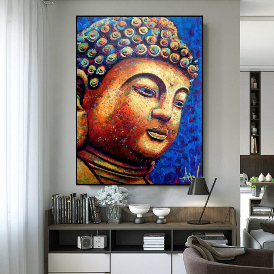 Tranh Tượng Phật Thích Ca Mâu Ni YH00186