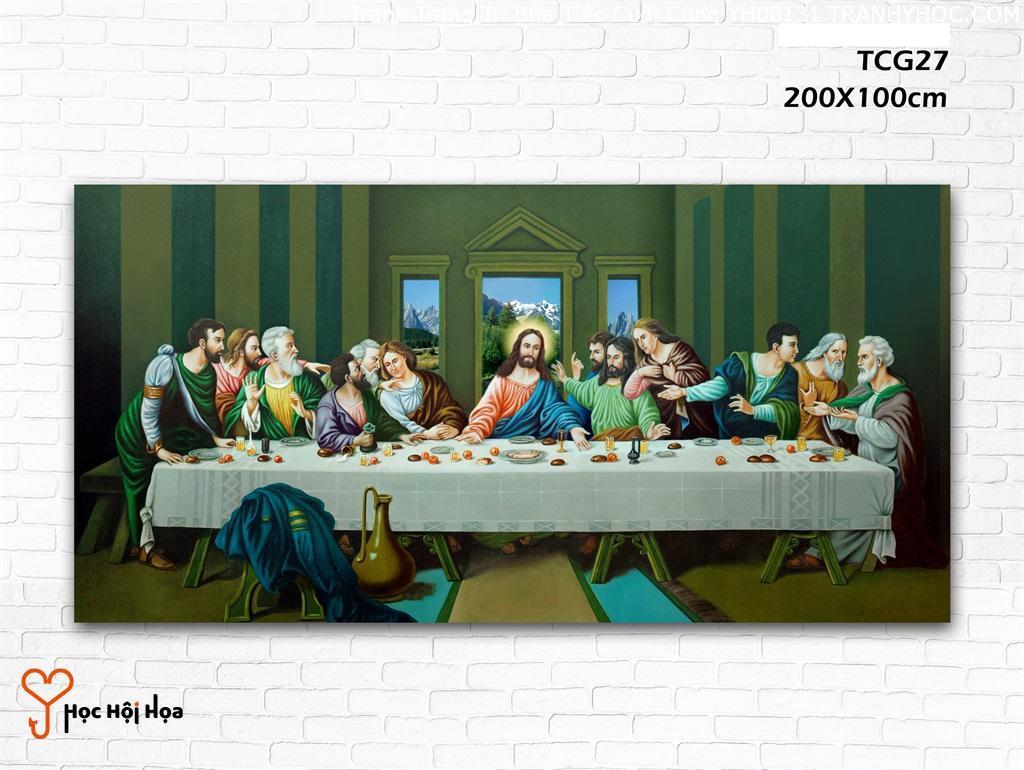 Tranh Trang Trí Bữa Tiệc Cuối Cùng YH00131