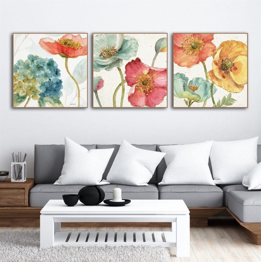 Tranh Vẽ Những Cánh Hoa Gợi Cảm YH00279