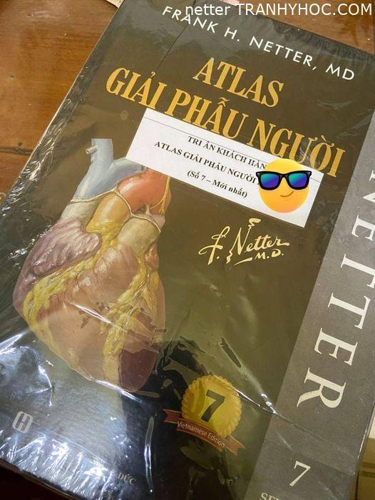 Sách atlas giải phẫu người